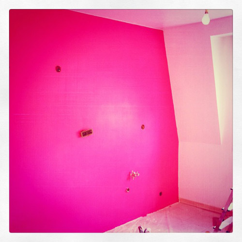Carrelage cuisine rose ~ Belle cuisine nous a fait à laise dans le ...